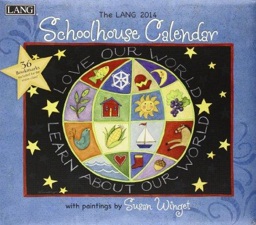 9780741244963: The Lang Schoolhouse 2014 Calendar