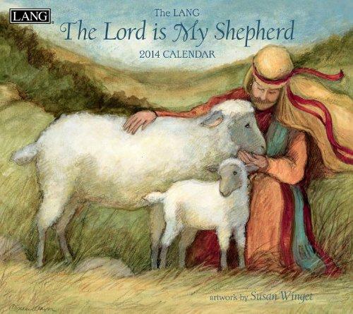 9780741244970: The Lord Is My Shepherd Calendar