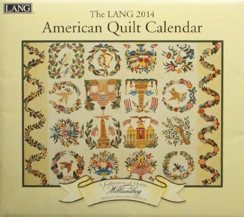 9780741245069: The Lang American Quilt 2014 Calendar