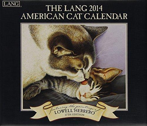 9780741245731: The Lang American Cat 2014 Calendar