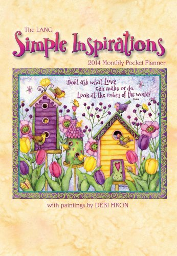 9780741245830: Simple Inspirations 2014 Monthly Pocket Planner 2014 Monthly Pocket Planner