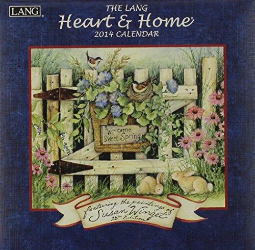 9780741246097: The Lang Heart & Home 2014 Calendar