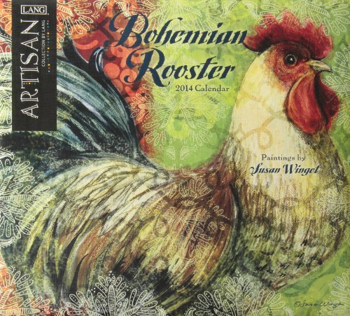 9780741246219: Bohemian Rooster 2014 Calendar