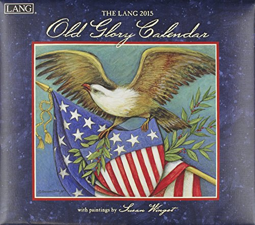 9780741247032: Lang January to December, 13.375 x 24 Inches, Perfect Timing Old Glory 2015 Wall Calendar by Susan Winget (1001755)