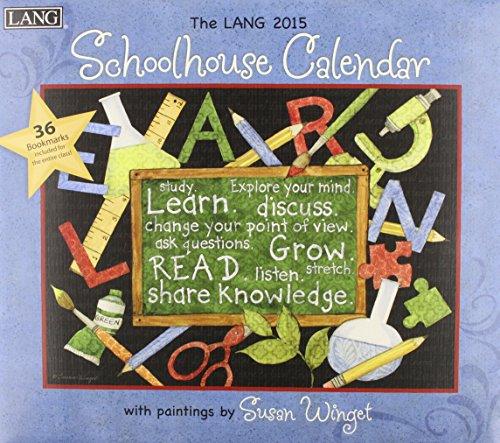 9780741247100: The Lang Schoolhouse 2015 Calendar