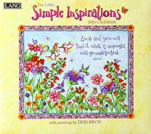 Simple Inspirations 2015 Calendar: Lang Graphic Ltd