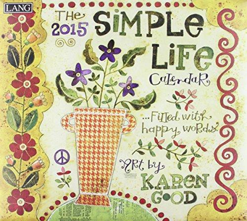 9780741247148: Simple Life 2015 Calendar