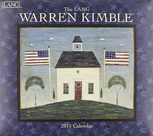 9780741247193: The Lang Warren Kimble 2015 Calendar