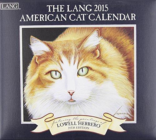 9780741247230: The Lang American Cat Calendar