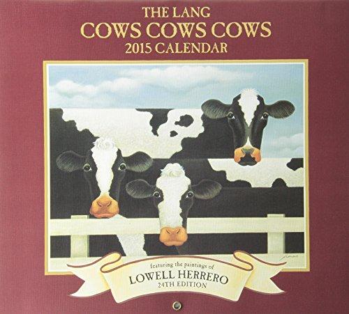 9780741247483: Cows Cows Cows 2015 Calendar