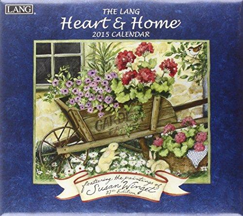 9780741247575: The Lang Heart & Home Calendar