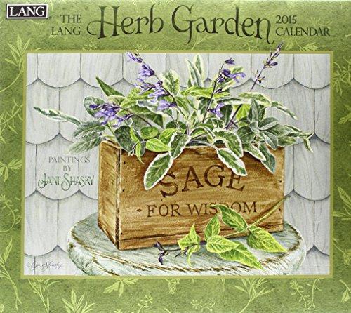 9780741247599: The Lang Herb Garden 2015 Calendar