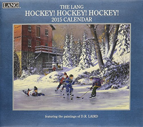9780741247605: The Lang Hockey! Hockey! Hockey! 2015 Calendar