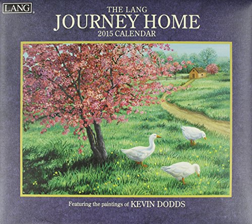 9780741247643: Lang January to December, 13.375 x 24 Inches, Perfect Timing Journey Home 2015 Wall Calendar by Kevin Dodds (1001816)