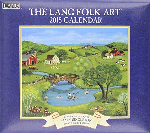 9780741247667: The Lang Folk Art Calendar