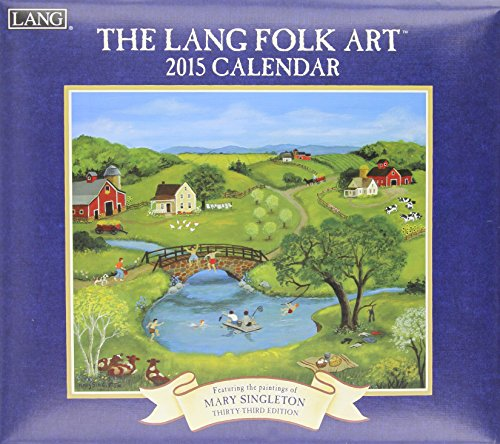9780741247667: The Lang Folk Art Calendar