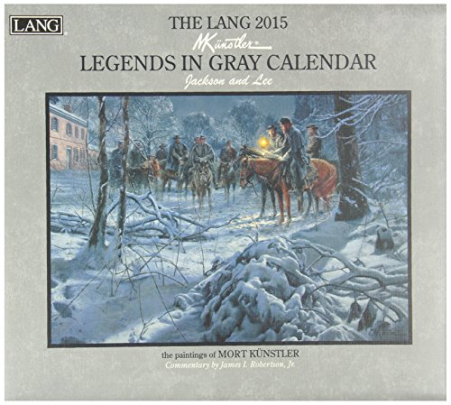 9780741247674: The Lang Legends in Gray Calendar: Jackson and Lee