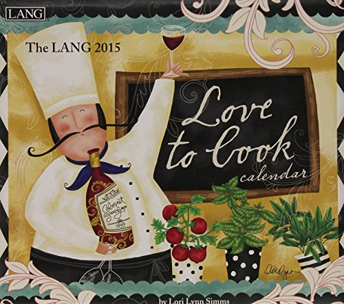 9780741247759: The Lang Love to Cook 2015 Calendar