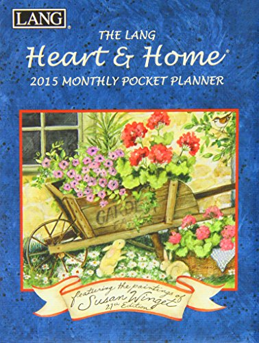 9780741248084: The Lang Heart & Home 2015 Monthly Pocket Planner
