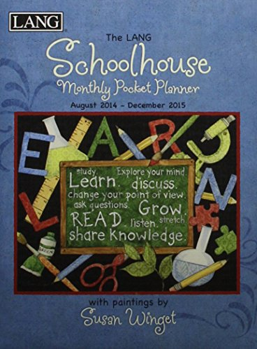 The Lang Schoolhouse Monthly Pocket Planner 2014-2015: Winget, Susan
