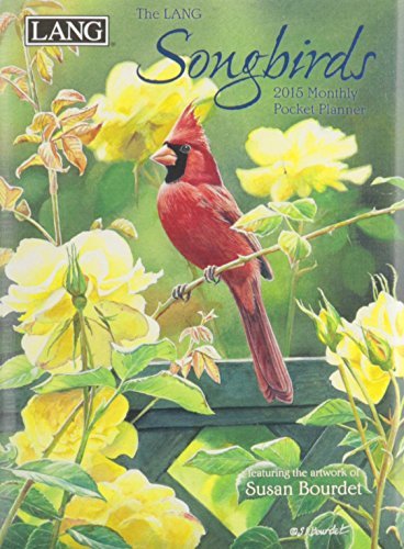 9780741248138: Lang January 2015 to January 2016 4.25 x 6.5 Inches, Perfect Timing Songbirds Monthly Pocket Planner by Susan Bourdet (1003151)