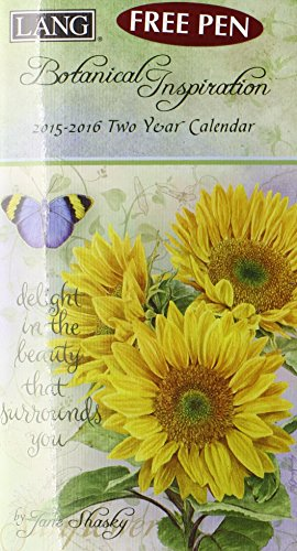 9780741248152: Botanical Inspiration 2015-2016 Two Year Calendar