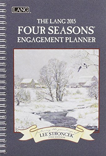 9780741248299: Lang January to December, 6.25 x 9 Inches, Perfect Timing Four Seasons 2015 Engagement Planner by Lee Stroncek (1011073)