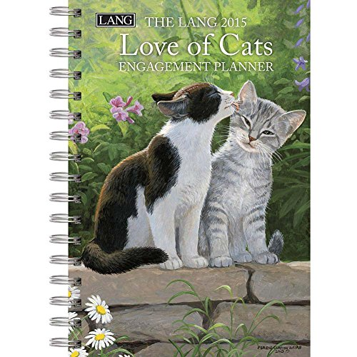 9780741248329: The Lang Love of Cats 2015 Planner