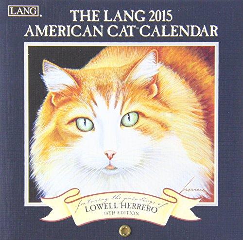 9780741248367: The Lang American Cat 2015 Calendar