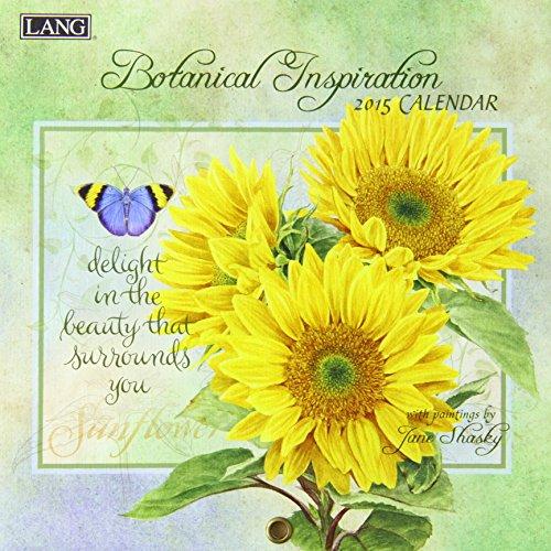 9780741248374: Lang Botanical Inspiration 2015 Calendar