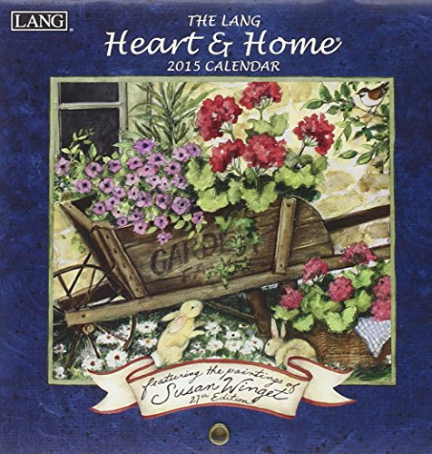 9780741248435: The Lang Heart & Home 2015 Calendar
