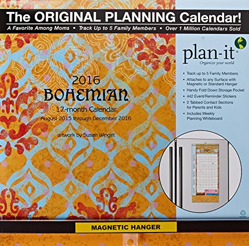 9780741249838: Bohemian Plan-it Plus 2016 Calendar