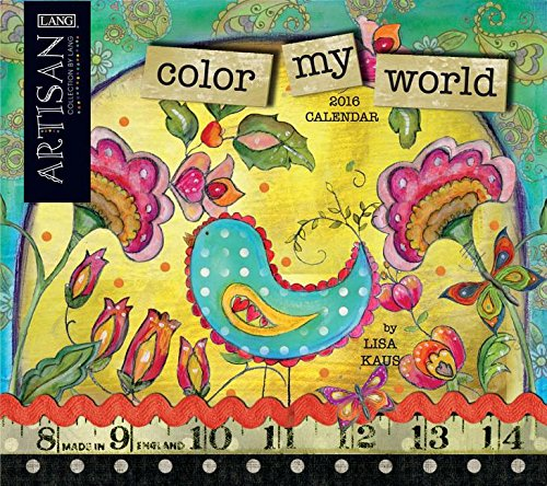 9780741249883: Cal 2016-Color My World: Color My World