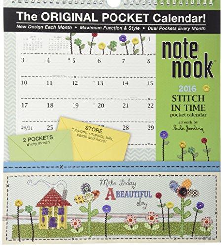9780741249982: Stitch in Time Note Nook 2016 Calendar