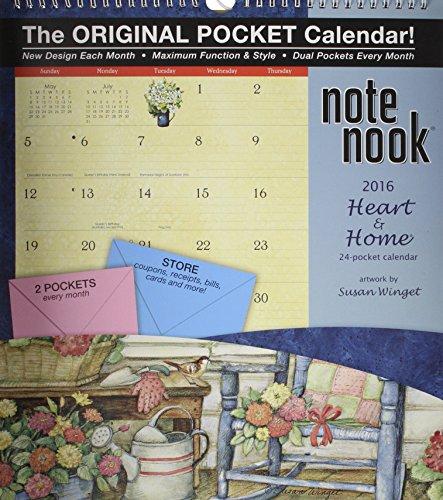 9780741250025: Heart & Home Note Nook 2016 Calendar