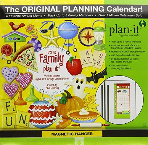 9780741250056: Family Plan-it Plus 17-Month 2016 Calendar