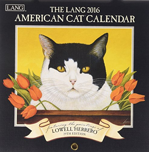 9780741250070: American Cat 2016 Calendar