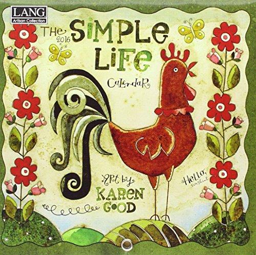 9780741250179: Simple Life 2016 Calendar