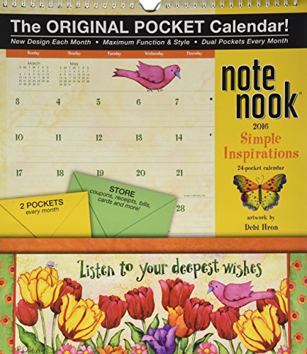 9780741250506: Simple Inspirations Note Nook 2016 Calendar