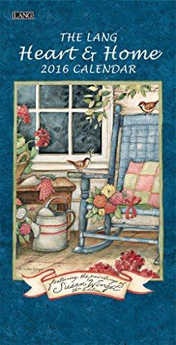 9780741250575: The Lang Heart & Home 2016 Verticle Calendar