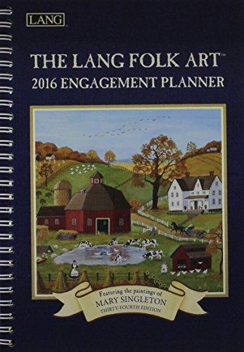 9780741250698: The Lang Folk Art 2016 Planner