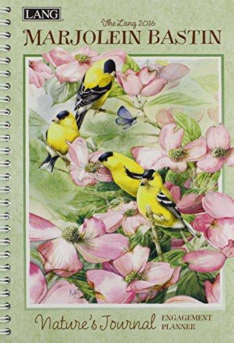 9780741250711: The Lang Marjolein Bastin Natures Journal 2016 Engagement Planner