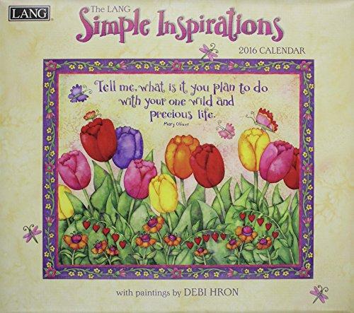 9780741250759: Simple Inspirations 2016 Calendar