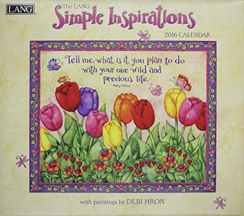 9780741250759: The Lang Simple Inspirations 2016 Calendar