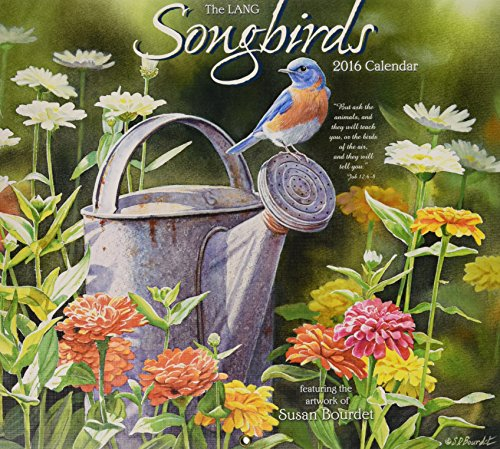 9780741250780: The Lang Songbirds 2016 Calendar