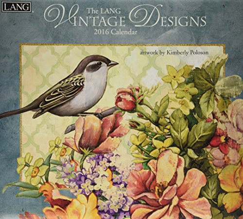 9780741250803: The Lang Vintage Designs 2016 Calendar