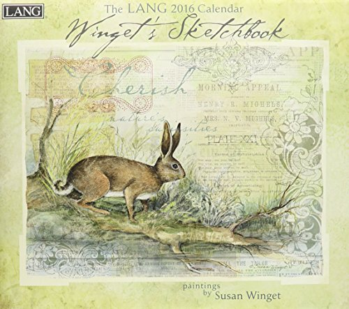9780741250834: Winget Sketchbook 2016 Calendar