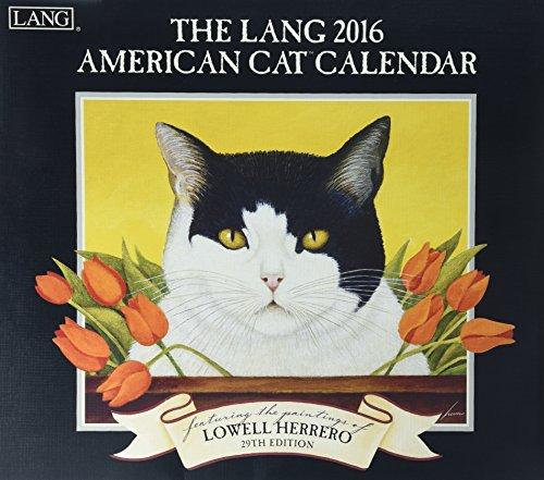 9780741250865: American Cat 2016 Calendar