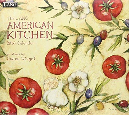 9780741250889: American Kitchen 2016 Calendar