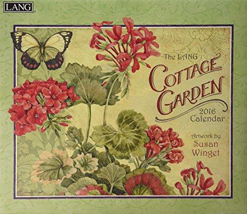 9780741251008: Cottage Garden 2016 Calendar